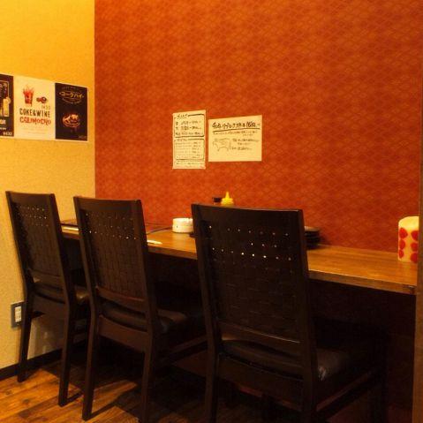 カウンター席もございます♪厨房も見ることができるスペシャルなお席です★