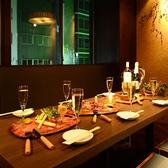 テーブル個室。4名様~7名様位に最適です