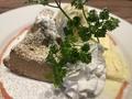 料理メニュー写真アールグレイの焼きシフォンケーキ