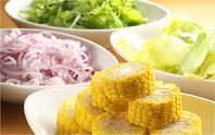 食材は全て自演農法野菜・無添加調味料