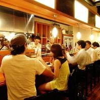 九州らしく楽しく豪快な居酒屋スタイル
