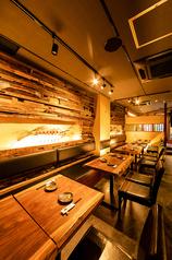 黒毛和牛と海鮮料理 のれん 横浜店の雰囲気1