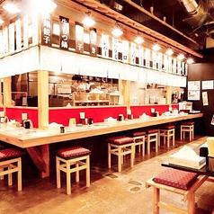 カウンター席もございますので、お一人様でもお気軽にご来店ください!九州名物や和食、新鮮な海鮮をゆっくりとお楽しみください。