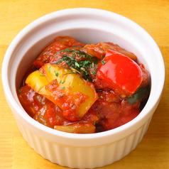 今年の夏野菜のタラトゥイユ