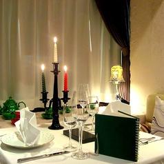 お友達やご家族、デートでもゆったりお食事を楽しめます。