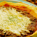 料理メニュー写真チリコンカンピザ