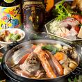新鮮な魚介類や鮮魚をふんだんに使用したコースをリーズナブルに!梅田での女子会に人気!