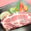 """料理メニュー写真〔糸島産の美味しいお肉〕""""零ONEポーク""""ステーキ"""