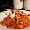 料理メニュー写真スキャンピのアメリケーヌトマトパスタ
