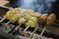 料理メニュー写真鶏串焼き6本盛り合わせ