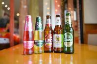 【自慢のアジアビール】も楽しめる♪