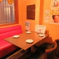 2~4名テーブル