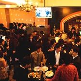 スタンディングでキャパシティー最大120様☆ご予約は25名様より承ります。ウェディング/ライブ/学生パーティー/サークル飲み会/結婚式2次会に多く使われております。