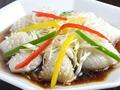 料理メニュー写真イカの海鮮ソースあんかけ