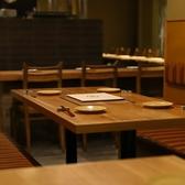【2~6名様】一席ずつ区切られたテーブル席。周りを気にせずお寛ぎ頂けます。