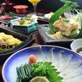 山口県の食材や、旬の食材を使用したお料理を多数ご用意♪海鮮のお料理からお酒にピッタリな和食居酒屋メニューもございます。