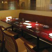 最大8名様用テーブル席。合コン・飲み会に