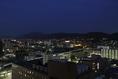 地上45m、東山の夜景を見ながらゆっくりと・・・