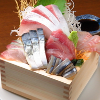 新鮮鮮魚がリーズナブルに楽しめる、しげぞう盛り♪