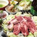 食べ飲み放題付ジンギスカンのコース4500円でご用意しております!臭みがなくやわらかな肉質なので食べやすいです★
