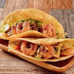 エビとアボカドのタコス(2個) Shrimp & Avocado Tacos (2 Pieces)