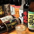 焼酎に合う居酒屋メニュー多数!
