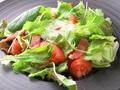 料理メニュー写真温泉玉子のシーザーサラダ