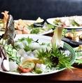 いつでも新鮮な海鮮をお客様にお届けいたします。山口の日本酒などお好みのお酒に合わせてお楽しみください。