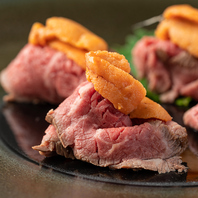 炙り肉寿司や鍋料理が豊富♪お酒に合う創作料理満載!