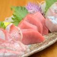 日本海直送の新鮮魚介が自慢です。