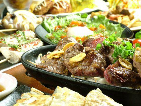 各種宴会に♪食べ飲み放題コース3000円~!牛ステーキやお鍋も食べ放題のプランも♪
