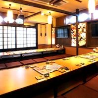 宴会最大54名様OK!福島で宴会なら魚鮮水産