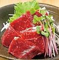 料理メニュー写真【熊本名物】馬刺し赤身