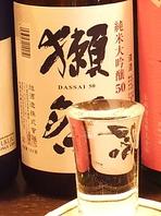 全国の地酒、焼酎多数