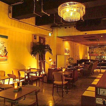 オリエンタルカフェの雰囲気1