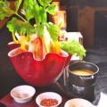 料理メニュー写真銀座あしべオリジナルサラダ バーニャカウダソース/蟹とアボガドのサラダ 蟹味噌ドレッシング