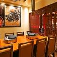 宴会最大8名様可能な個室もございます。