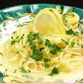 料理メニュー写真レモンのスパゲッティ アルコ風