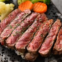 国産牛を使用したお酒との相性抜群な逸品料理