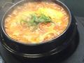料理メニュー写真焼カルビスープ