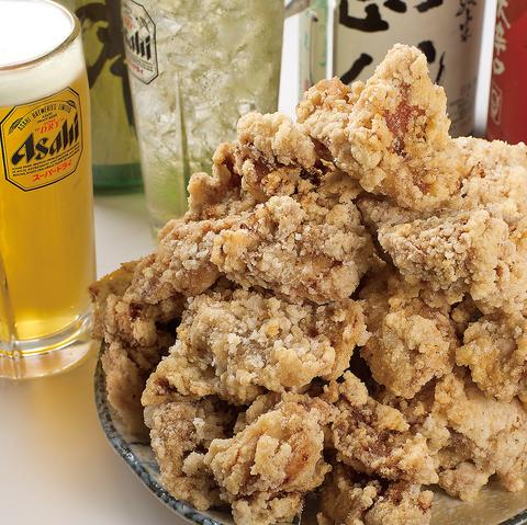 全国各地の唐揚げを食べ尽くした店主の作る絶品唐揚げ!ビールとの相性抜群です♪