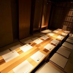 最大16名様までの完全個室。ゆっくりとお楽しみくださいませ♪