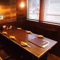 道頓堀の夜景も見れる完全個室です♪♪静かに飲みたい、少し人目が気になる…というお客様にはピッタリです♪