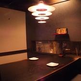 2~4名様用個室。小窓があり人気のお席です