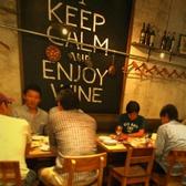 壁に書かれた「keep calm and enjoy wine 」の文章は、僕らのお店のテーマです♪♪「穏やかに過ごして、ワインを楽しもう」♪♪♪