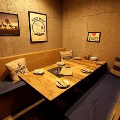 ソファー席個室(~4名様)周囲を気にせずゆったりとお寛ぎいただけるソファー席個室です。記念日や誕生日に。