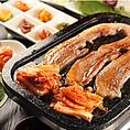サムギョップサルをテーブルで焼肉も出来ます!要2日前予約でお問い合わせください!相模原駅より、バスでグリーンプラザ下車