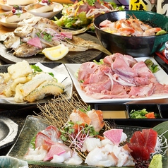 鶏と魚の和風居酒屋 節のコース写真