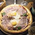 料理メニュー写真ビスマルクpizza