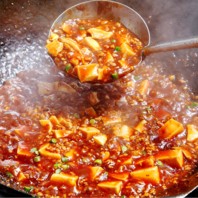 大人気の『土鍋麻婆豆腐』